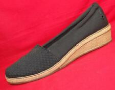 NEW Women's GRASSHOPPERS EF50067 Black Casual/Comfort Slip on Loafers Shoes