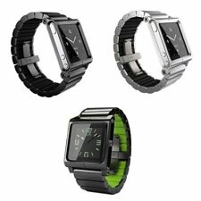 Aluminum Multi-Touch Watch Band Strap Bracelet for iPod Nano 6 6th Generation