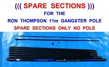 SPARE SECTIONS OR SPARE TOP 2 KIT FOR THE RON THOMPSON 11M CARBON GANGSTER POLE