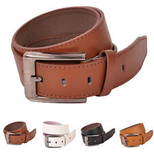 Vintage Mens Genuine Leather Waistband Buckle Belts Waist Strap Belts Womens Man