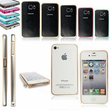 ULTRA THIN SLIM ALUMINIUM METAL BUMPER FRAME COVER CASE FOR VARIOUS MOBILE PHONE