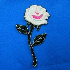 Flower Floral Iron on Sew Patch Cute Applique Badge Embroidered Nature Applique