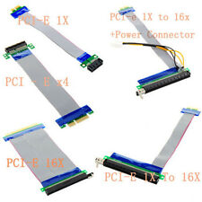 New 1X/4X/16X to 16X Extender Riser Card Express PCI-E Extension Cable Adapter U