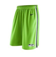 Seattle Seahawks MENS Shorts Sideline Training Lime Green by Nike