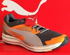 PUMA FAAS 800 S-Mens Running New Shoes-Orange/Gray/Black-186313 02