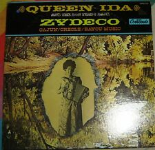 Queen Ida: and the Bon Temps Band: Zydeco LP (1976) GNPS 2101