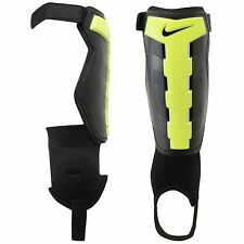 Nike Charge Shin Pad Guard Black/Volt Football Soccer