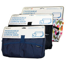 Pack-It Carry All Freezable Lunch Bag with Adjustable Shoulder Strap