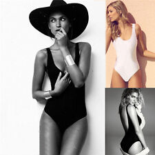 Sexy Backless One-Piece High Cut Swimwear Monokini Swimsuit Bikini Bathing suit