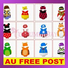 Monril Baby Boys Girls Animal Onesie Costume Bodysuit Outfit Romper Clothes Hat