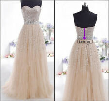 WOMEN Chiffon Formal Prom Cocktail Party Ball Gown Evening Long Bridesmaid Dress