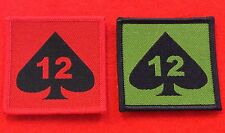 Quality 12 Mechanized Brigade TRF Badge 12 Mechanized Brigade Combat TRF Patch