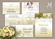 Personalised Wedding Day Evening Anniversary Invitations Save The Date
