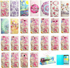 New! Card Insult Flip Stand PU Leather Wallet Case Cover Skin for iPhone/Samsung