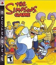 The Simpsons Game Sony Playstation 3 PS3 Video Game BRAND NEW FACTORY SEALED