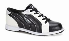 NEW Dexter Groove II Women's Bowling Shoes, Wide, Black/White, Sizes 5 & 6.5