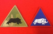 1st UK Armoured Division TRF Flash MTP 1st UK Armoured Combat TRF Badge