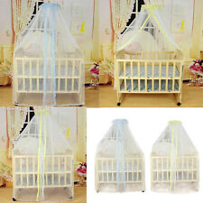 Summer Baby Bed Mosquito Mesh High Quality Dome Curtain Net Crib Cot Canopy Net
