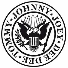 The Ramones sticker VINYL DECAL Johnny Joey Dee Dee Tommy Punk Music Band CBGB