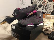 Nike Air Jordan 7 Retro Girls Fuchsia Love of The Game Valentine 705417 016