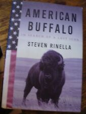 AMERICAN BUFFALO Rinella 2008 In Search of a Lost Icon FREE US SHIPPING HUNTING