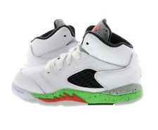 "Infant (TD) Air Jordan 5 Retro ""Space Jam"" White/Black-Poison Green 440890-115"