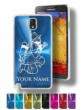 Personalized Case For Galaxy Note 3 & 4 - FIREMAN, FIREFIGHTER WITH HOSE