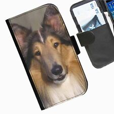 Dogs  Puppys Leather wallet personalised phone case for Alcatel Pop C3