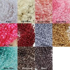 Pearl Trim/Ribbon/Lace for Party/Wedding Decorations - Choose Your Color