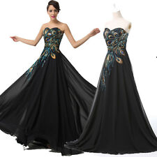 2015 PLUS SIZE+ Vintage Peacock Masquerade Ball Gowns Party Evening Prom Dresses