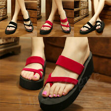 Fashion Strap Women Fashion Sandals Beach EVA Flip Flops Slippers Shoes Nice 66