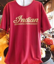 Genuine Indian Motorcycle Red Scout Logo Tee Short Sleeve