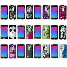 Unique Cute Slim Snap On Protector Cover Phone Case For LG Leon C40 (MetroPCS)