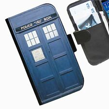 Dr Who Close Leather wallet phone case for iPhone Samsung Sony Huawei Blackberry