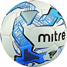MITRE IMPEL 2015 NEW GRAPHIC FOOTBALL WHITE/BLUE SIZE 3 4 5 TRAINING BALL