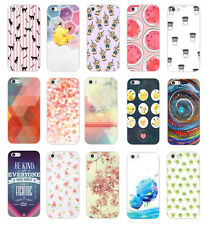 Cute Design Fashion Pattern Hard Back Case Cover For Apple iphone 5 5S 5C 6