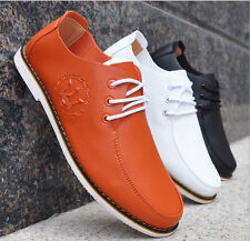 2015 New Men's shoes Summer Casual Leather breathable Sneakers Shoes