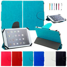 "Universal Ultra Thin Tri-fold PU Leather Case Stand Cover For 7~7.9"" Inch Tablet"
