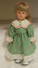Russ Birthstone Porcelain Doll -August