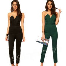 Sexy strapless  women bodycon jumpsuit rompers ladies party overalls playsuit