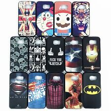 New Fashion Cartoon TPU Soft Back Case For Apple/Samsung/HTC/Huawei Smart Phone