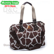 New Waterproof Baby Diaper Nappy Changing Bag Tote Handbag shoulers bags Travel