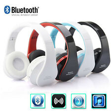 Wireless Bluetooth Headset Foldable Headset Stereo Headphone Earphone for iPhone