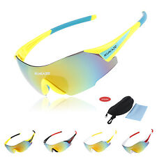 Cycling Glasses Bike Bicycle Sports Driving Fishing Sunglasses Goggles 5 Color