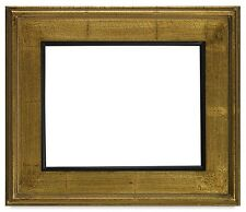 """NEW CLASSIC MODERN PHOTO PICTURE PAINT FRAME PLEIN AIR WOOD GOLD CRACKLE 3"""" WIDE"""