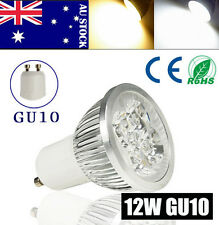 Cool/Warm White GU10 12W 4X3W  CREE LED Bulb Light  Spot Light AC 85-265V