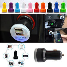 Universal 2-Port Dual 2.1A + 1A USB Car Charger Adapter For iPhone 5S 6 Samsung