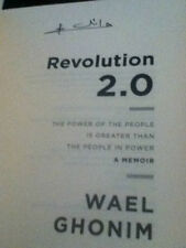 Revolution 2.0 The Power of the People Wael Ghonim Egypt google Signed