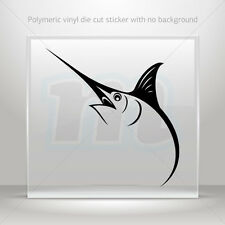Sticker Decals Marlin Sailfish Atv Bike Garage bike polymeric vinyl mtv ZKXR8