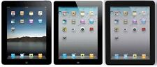 Apple iPad 2nd, 3rd, or 4th Generation Black or White Verizon Tablet 16 32 64GB